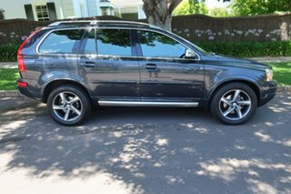 2013 Volvo XC90 MY13 D5 R-Design (AWD) Grey 6 Speed Automatic Geartronic Wagon.