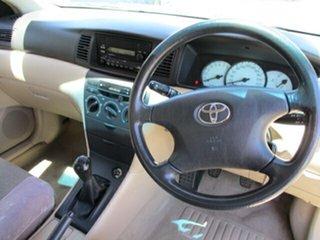 2002 Toyota Corolla ZZE122R MY03 Conquest Green 5 Speed Manual Sedan