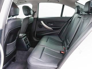 2014 BMW 316i F30 MY14 White 8 Speed Automatic Sedan