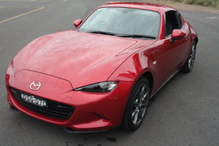 2017 Mazda MX-5 ND GT RF SKYACTIV-MT Red 6 Speed Manual Targa.