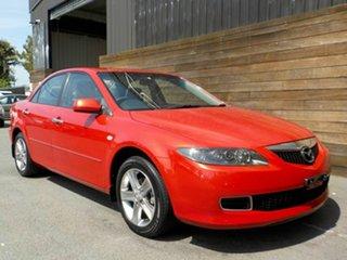 2007 Mazda 6 GG1032 MY07 Sports Red 6 Speed Manual Sedan.