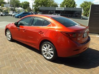 2016 Mazda 3 BN5238 SP25 SKYACTIV-Drive Red 6 Speed Sports Automatic Sedan.