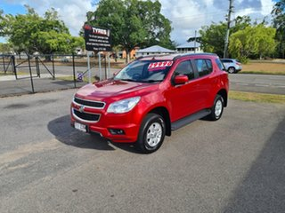 2015 Holden Colorado 7 RG LT Red 6 Speed Automatic Wagon