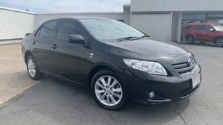 2010 Toyota Corolla ZRE152R Ascent Black Sand Pearl 4 Speed Automatic Sedan.