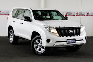 2017 Toyota Landcruiser Prado GDJ150R MY16 GX (4x4) Glacier White 6 Speed Automatic Wagon.