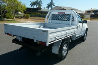 2012 Holden Colorado RG MY13 DX 4x2 White 5 Speed Manual Cab Chassis.