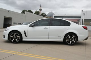 2017 Holden Commodore Vfii MY16 SV6 Black Edition White 6 Speed Automatic Sedan
