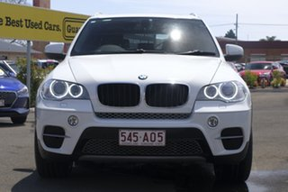 2011 BMW X5 E70 MY12 xDrive30d Steptronic White 8 Speed Sports Automatic Wagon