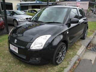 2008 Suzuki Swift EZ 07 Update S Black 5 Speed Manual Hatchback.