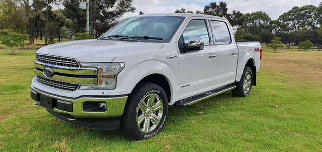 Used Ford F150 Melton, 2019 Ford F150 (No Series) Lariat White Automatic Utility