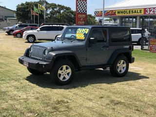 2013 Jeep Wrangler JK MY2013 Sport Grey 5 Speed Automatic Softtop.