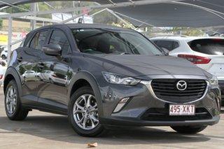 2017 Mazda CX-3 DK2W7A Maxx SKYACTIV-Drive Meteor Grey 6 Speed Sports Automatic Wagon.
