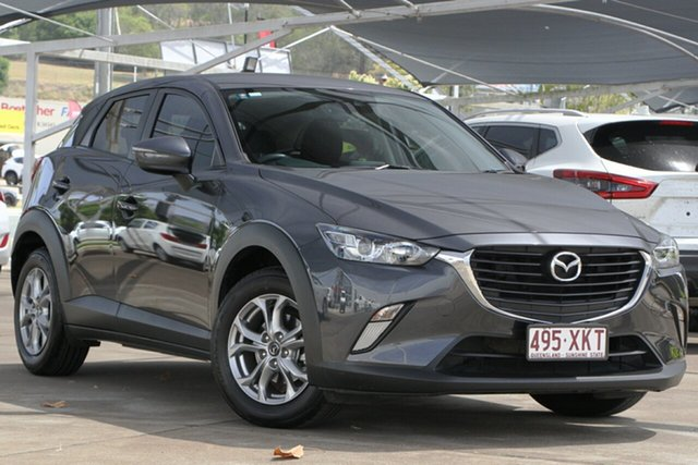 Used Mazda CX-3 DK2W7A Maxx SKYACTIV-Drive Bundamba, 2017 Mazda CX-3 DK2W7A Maxx SKYACTIV-Drive Meteor Grey 6 Speed Sports Automatic Wagon