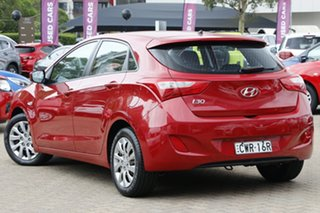 2013 Hyundai i30 GD MY14 Active Red 6 Speed Automatic Hatchback.