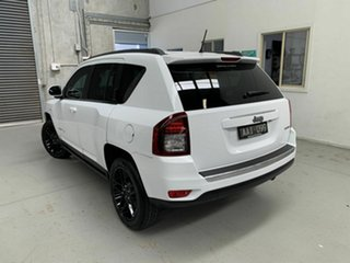 2013 Jeep Compass MK MY14 Limited White 6 Speed Sports Automatic Wagon