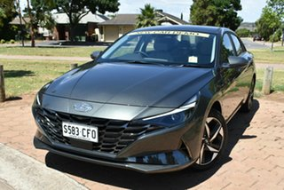 2020 Hyundai i30 CN7.V1 MY21 Elite Amazon Gray 6 Speed Sports Automatic Sedan.