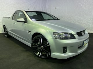 2010 Holden Ute VE MY10 SV6 Silver 6 Speed Manual Utility.