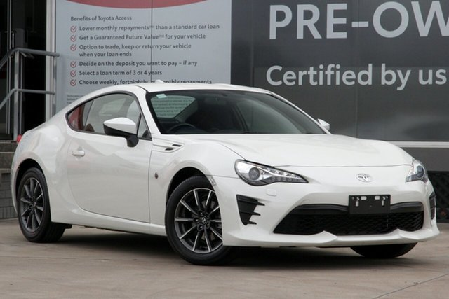 Used Toyota 86 ZN6 GT Guildford, 2019 Toyota 86 ZN6 GT White Liquid 6 Speed Manual Coupe