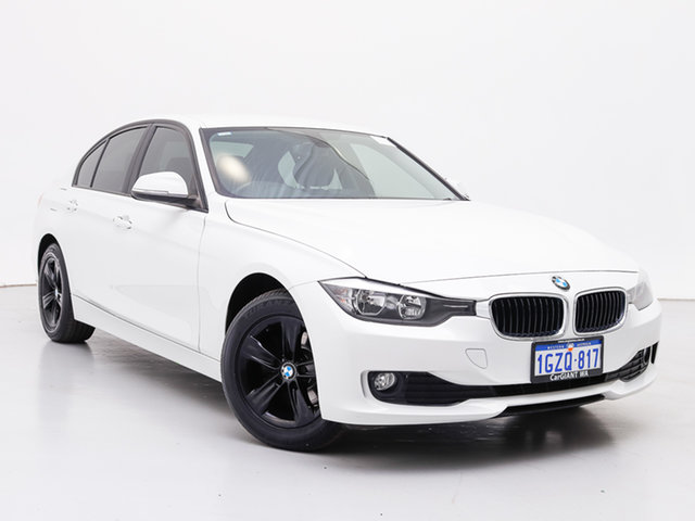 Used BMW 316i F30 MY14 , 2014 BMW 316i F30 MY14 White 8 Speed Automatic Sedan