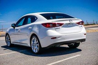 2015 Mazda 3 BM5238 SP25 SKYACTIV-Drive White 6 Speed Sports Automatic Sedan.