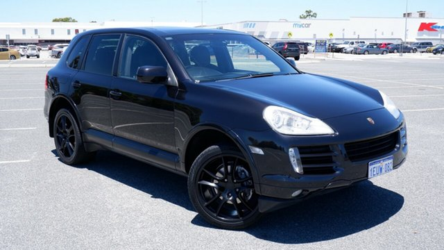 Used Porsche Cayenne 9PA MY09 Diesel Maddington, 2009 Porsche Cayenne 9PA MY09 Diesel Black 6 Speed Sports Automatic Wagon