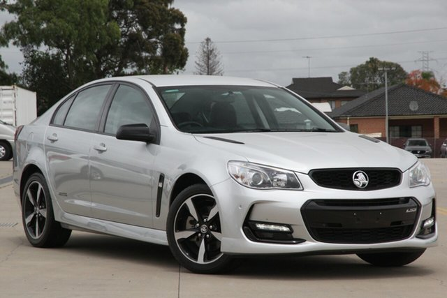 Used Holden Commodore Vfii MY16 SS Black Edition Chullora, 2016 Holden Commodore Vfii MY16 SS Black Edition Silver 6 Speed Automatic Sedan