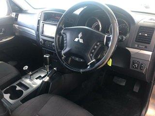 2011 Mitsubishi Pajero NT MY11 Series II RX Limited Edition (4x4) Brown 5 Speed Auto Sports Mode