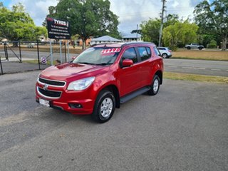 2015 Holden Colorado 7 RG LT Red 6 Speed Automatic Wagon.