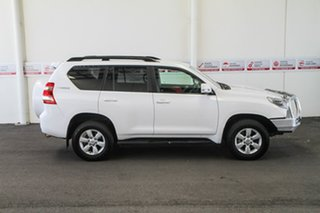 2015 Toyota Landcruiser Prado KDJ150R MY14 GXL Glacier White 5 Speed Sports Automatic Wagon