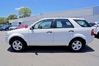2004 Ford Territory SX TS Winter White 4 Speed Sports Automatic Wagon