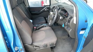 2007 Nissan Navara D40 ST-X Blue 6 Speed Manual Utility