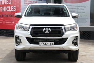2018 Toyota Hilux GUN126R 4x4 Crystal Pearl 6 Speed Automatic Dual Cab