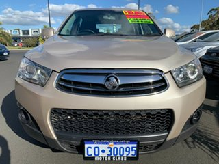2012 Holden Captiva CG Series II 7 SX Gold 6 Speed Sports Automatic Wagon