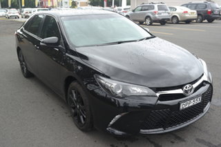 2017 Toyota Camry ASV50R Atara S Black 6 Speed Sports Automatic Sedan.
