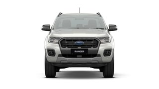 2020 Ford Ranger PX MkIII 2021.25MY Wildtrak White 10 Speed Sports Automatic Double Cab Pick Up.
