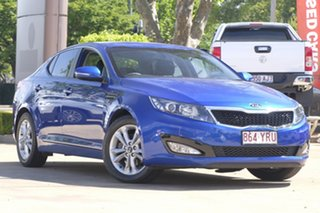 2012 Kia Optima TF MY12 SI Blue 6 Speed Sports Automatic Sedan.