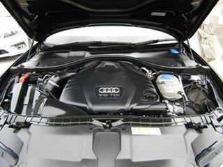 2014 Audi A6 4G MY14 S Tronic Quattro Black 7 Speed Sports Automatic Dual Clutch Sedan