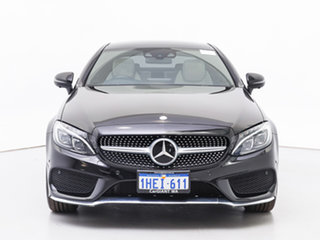 2016 Mercedes-Benz C300 205 MY16 Black 7 Speed Automatic Coupe.