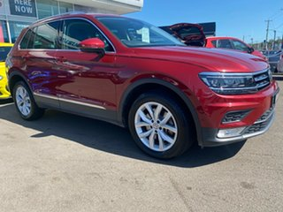 2016 Volkswagen Tiguan 5N MY17 140TDI DSG 4MOTION Highline Red 7 Speed Sports Automatic Dual Clutch.