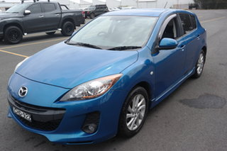 2012 Mazda 3 BL10F2 Maxx Sport Blue 6 Speed Manual Hatchback.
