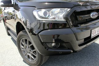 2018 Ford Ranger PX MkII 2018.00MY FX4 Double Cab Black 6 Speed Sports Automatic Utility.