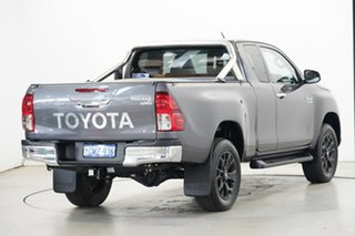 2018 Toyota Hilux GUN126R SR5 Extra Cab Grey 6 Speed Sports Automatic Utility