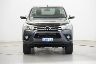 2018 Toyota Hilux GUN126R SR5 Extra Cab Grey 6 Speed Sports Automatic Utility.