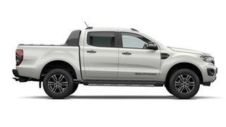 2020 Ford Ranger PX MkIII 2021.25MY Wildtrak White 10 Speed Sports Automatic Double Cab Pick Up
