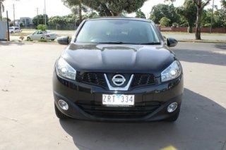 2013 Nissan Dualis J10 Series 3 TI (4x2) Black 6 Speed CVT Auto Sequential Wagon.