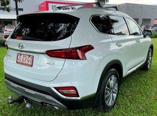 2019 Hyundai Santa Fe TM MY19 Elite White 8 Speed Sports Automatic Wagon.