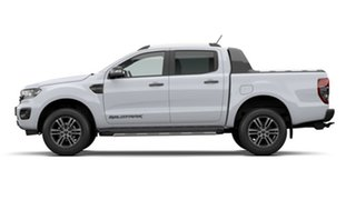 2020 Ford Ranger PX MkIII 2021.25MY Wildtrak Arctic White 6 Speed Sports Automatic.