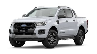 2020 Ford Ranger PX MkIII 2021.25MY Wildtrak Arctic White 10 Speed Sports Automatic.