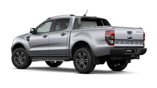2020 Ford Ranger PX MkIII 2021.25MY Wildtrak Aluminium Silver 6 Speed Sports Automatic