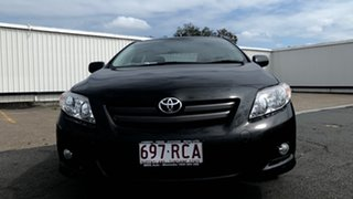 2010 Toyota Corolla ZRE152R Ascent Black Sand Pearl 4 Speed Automatic Sedan